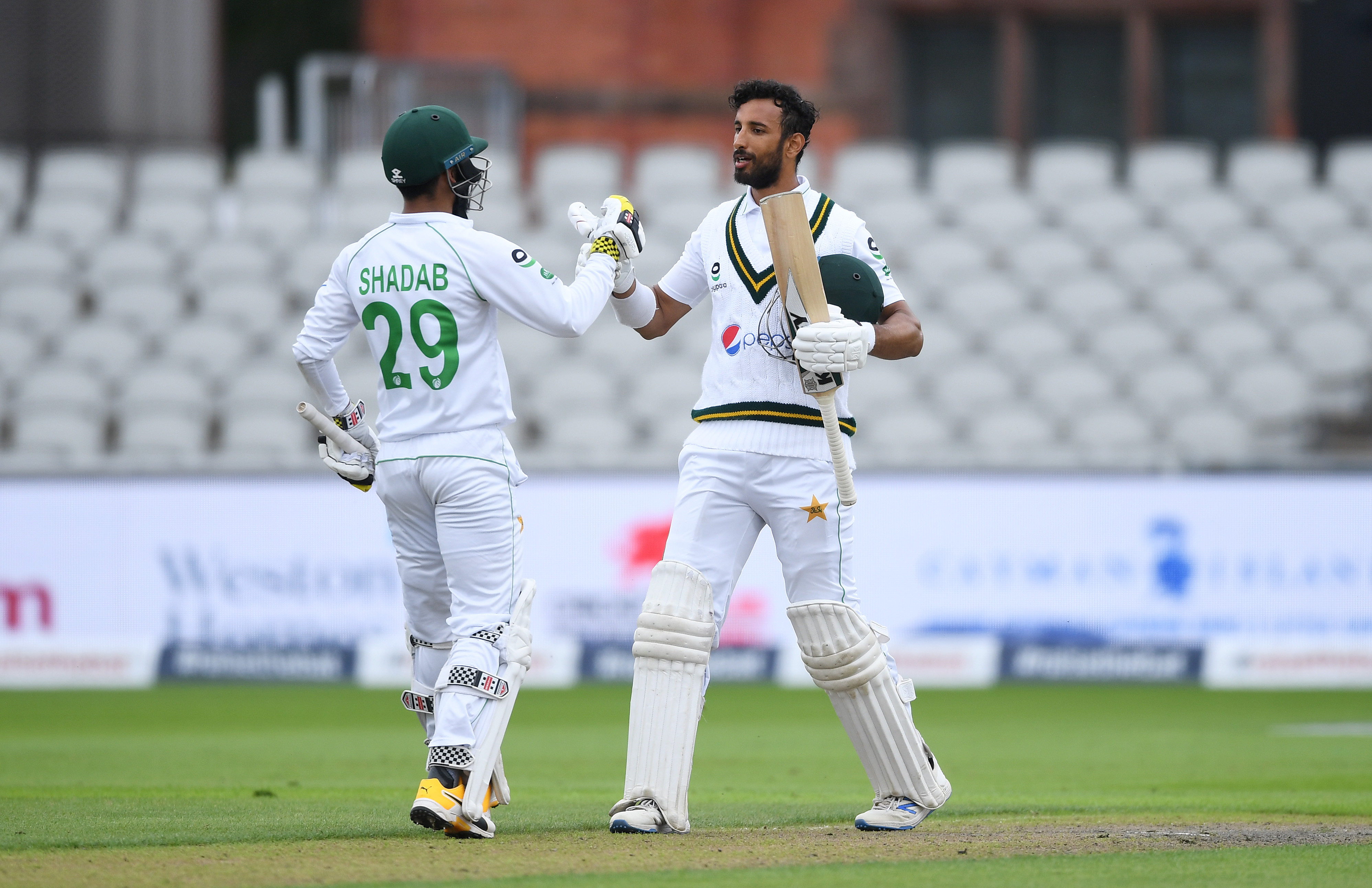 Masood tons up before seamers skittle England top order
