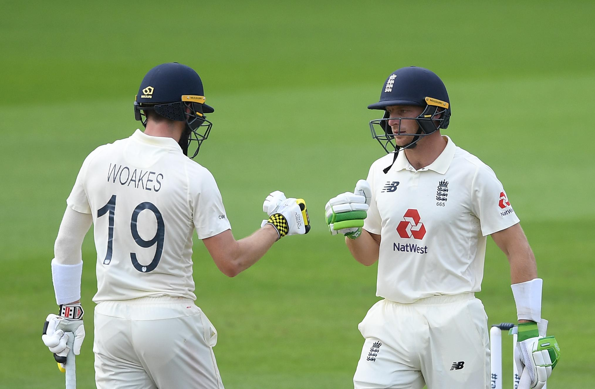 Chris Woakes, Jos Buttler lead England recovery in thriller