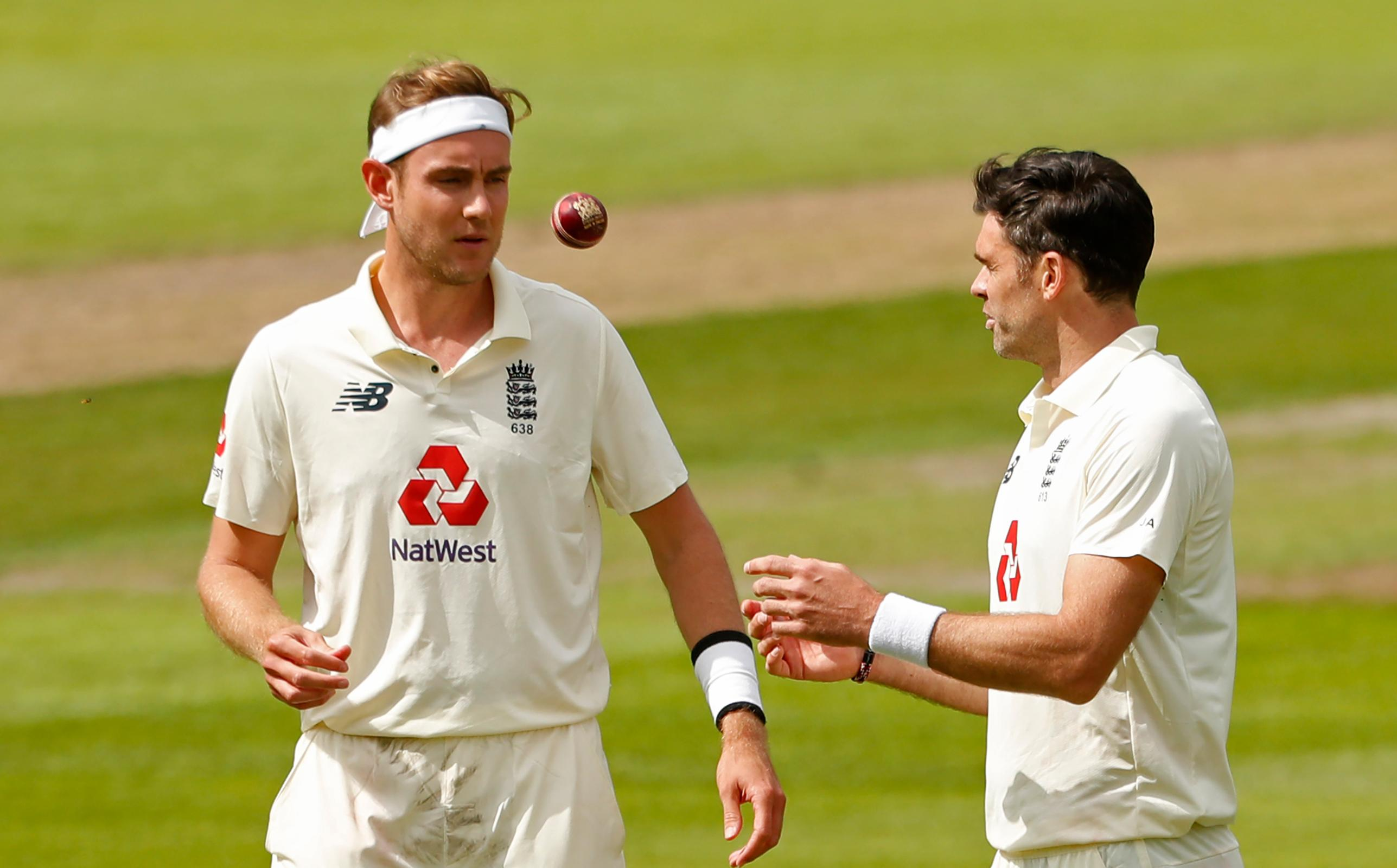 Broad and Anderson move up in Test rankings - International Cricket Council