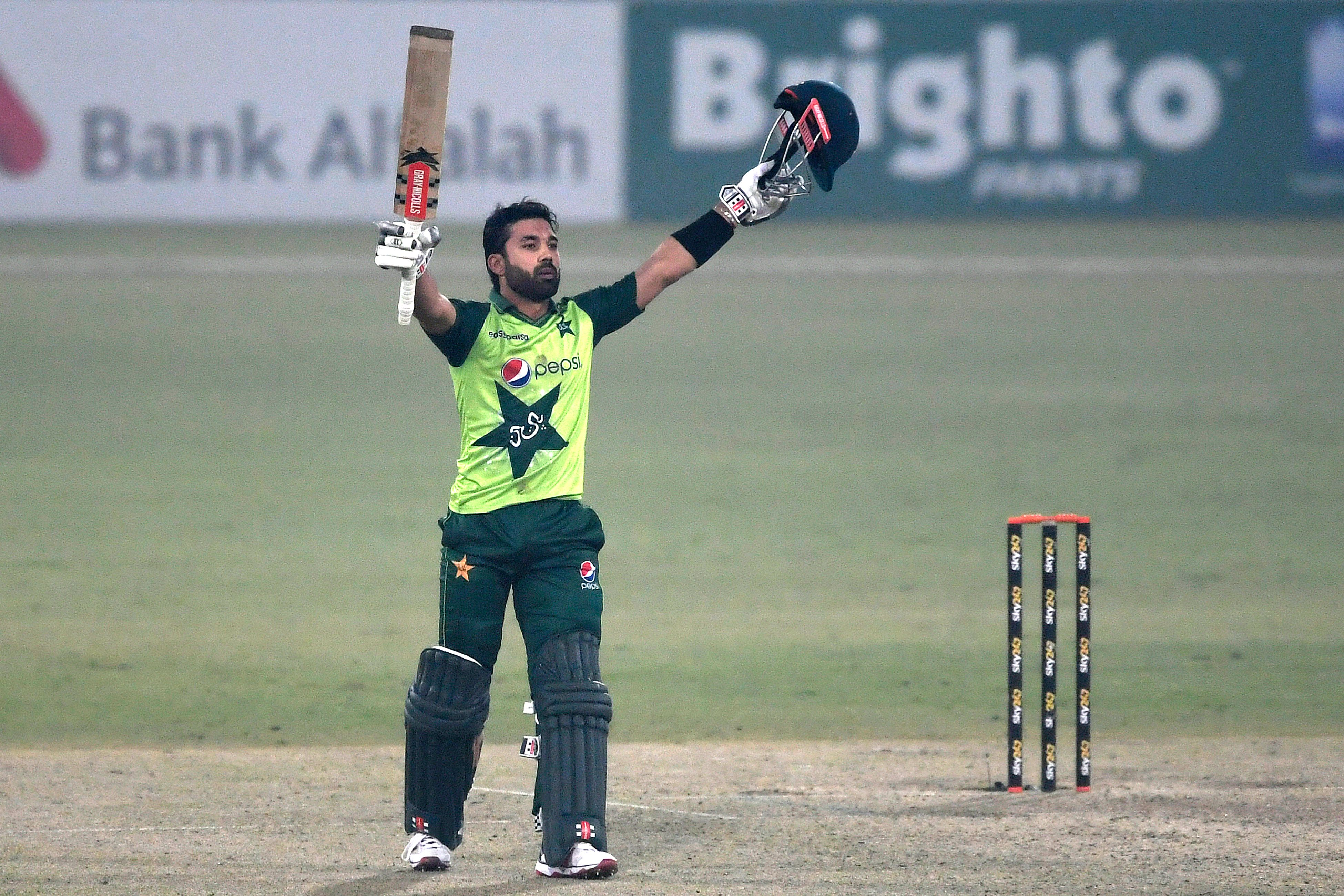 Rizwan's first T20I century helps Pakistan win the series opener - International Cricket Council