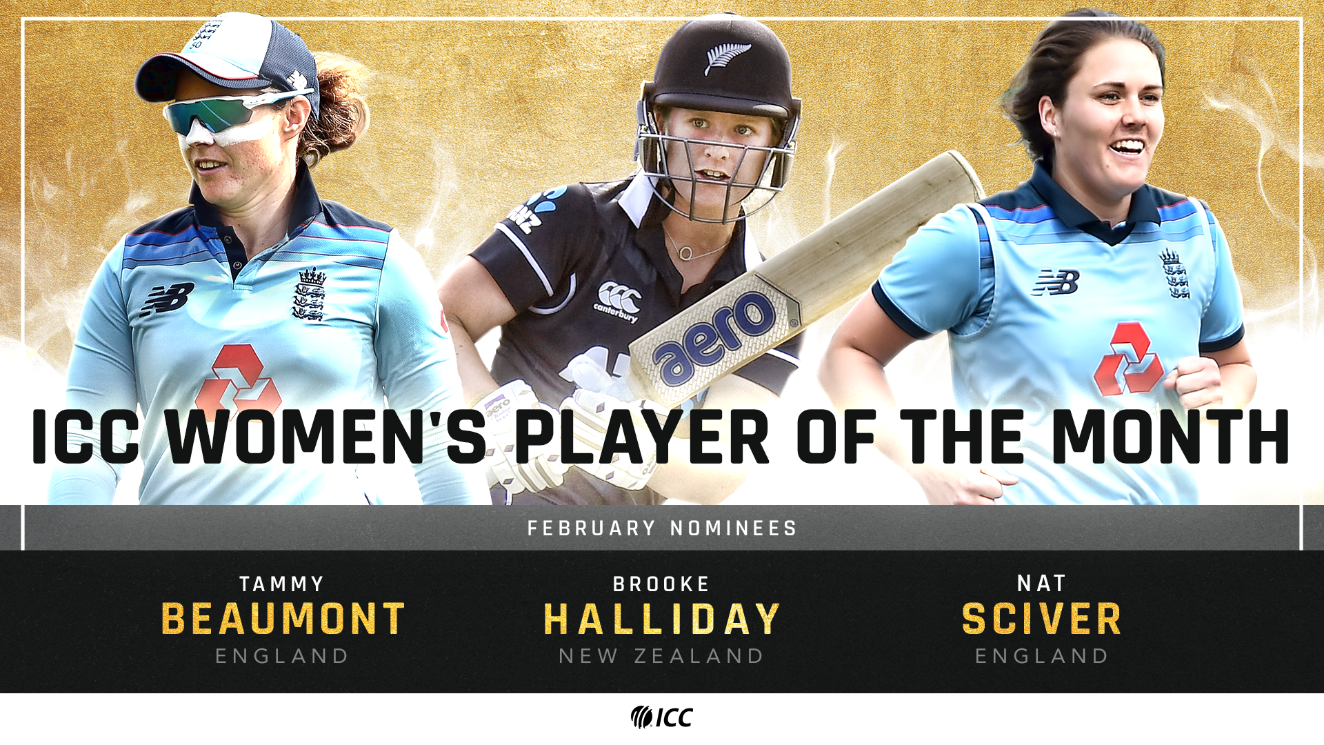 ICC Player of the Month nominations for February announced - International Cricket Council