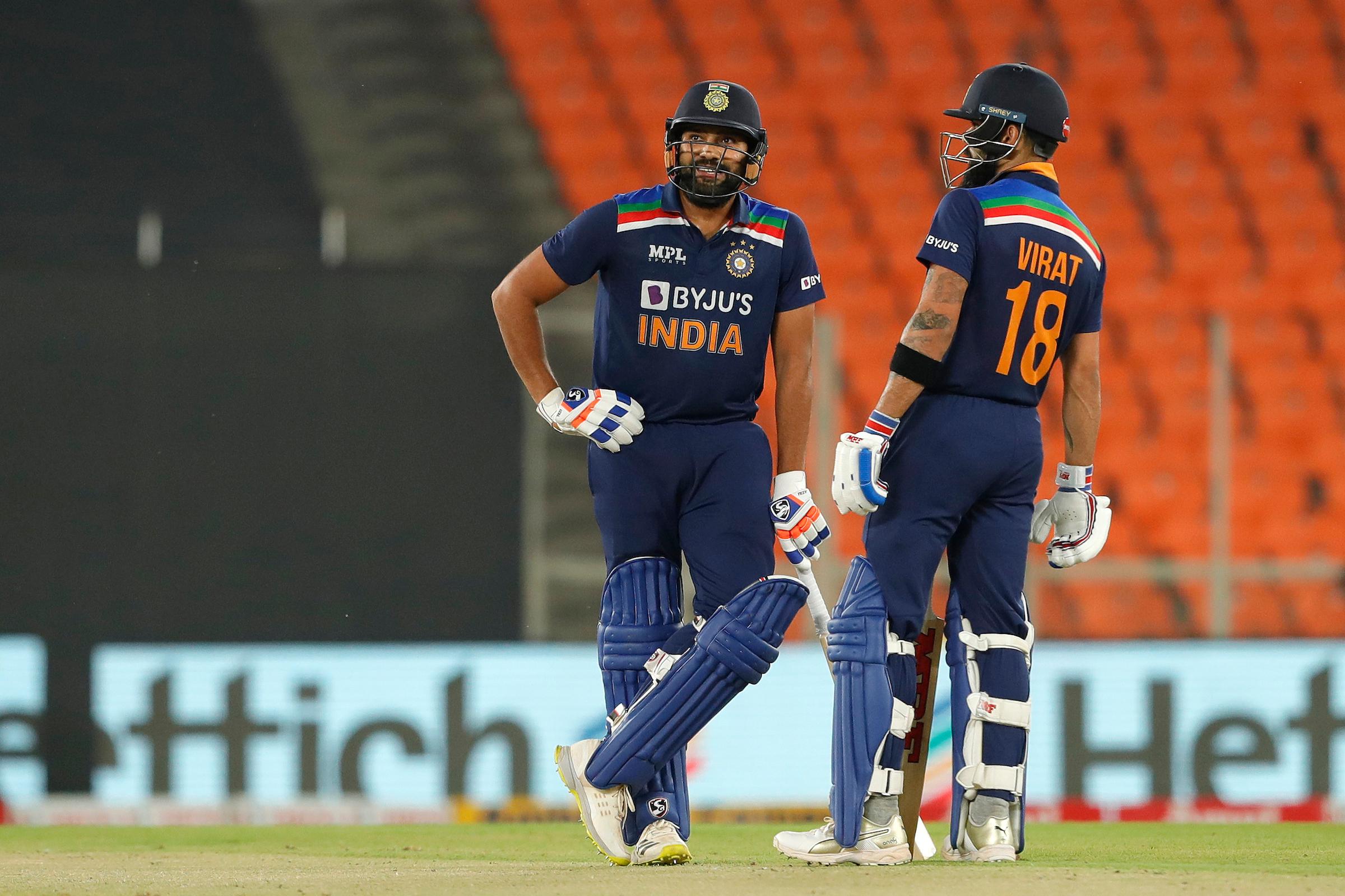 Kohli, Rohit advances in MRF Tires ICC male T20I player rankings
