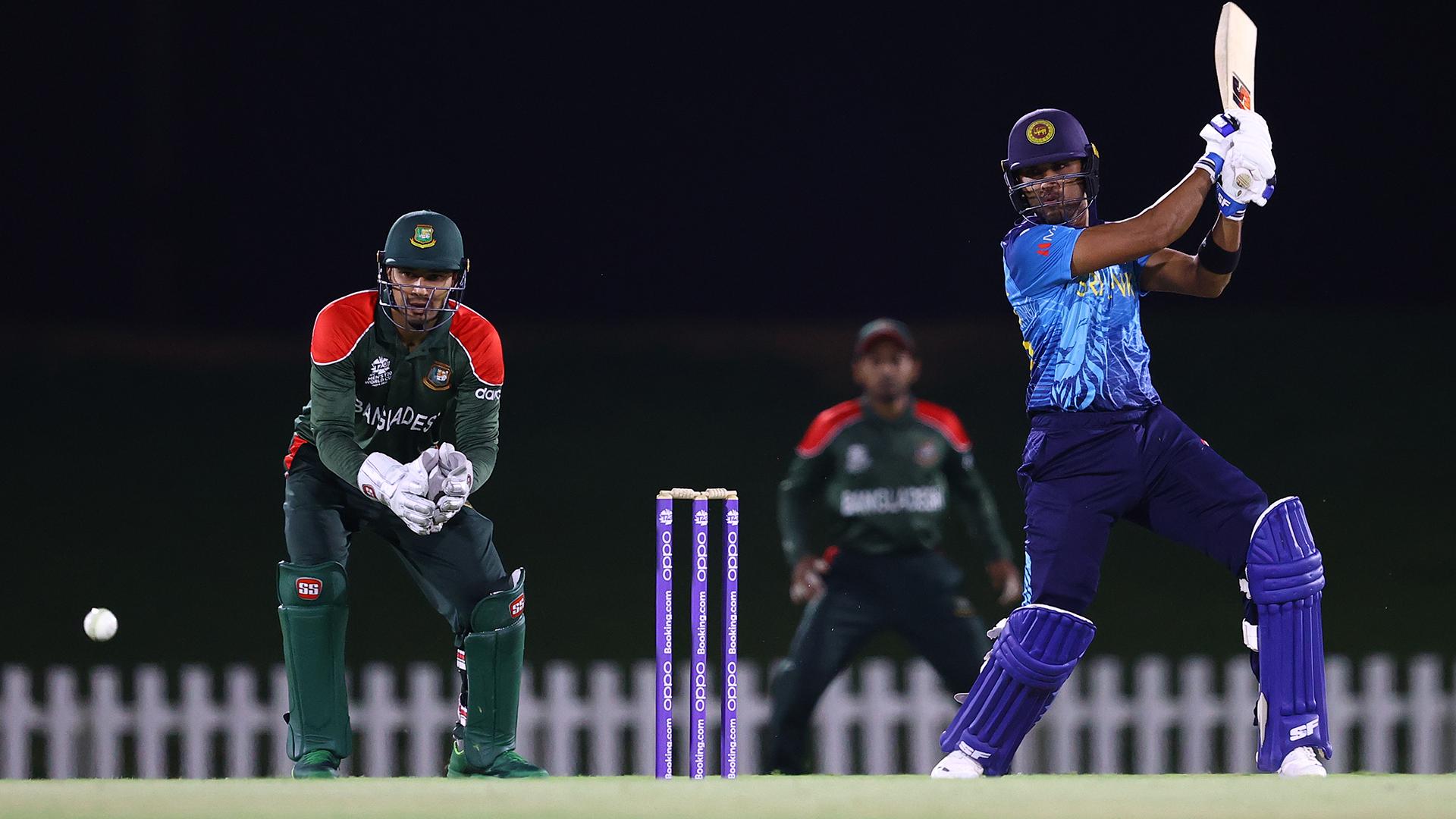 Sri Lanka faced Bangladesh in a warm up match.