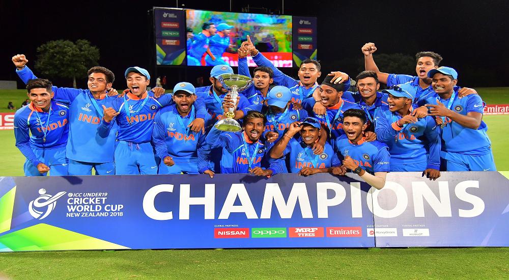 India Under 19s S Cricket Team World Cup 2019 Icc