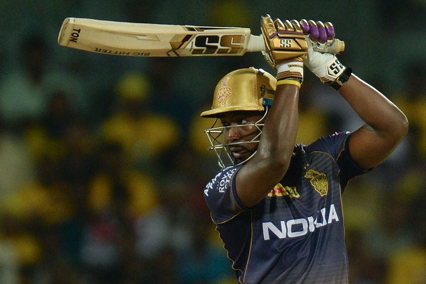 Andre Russell has been in stunning form in this IPL - AFP