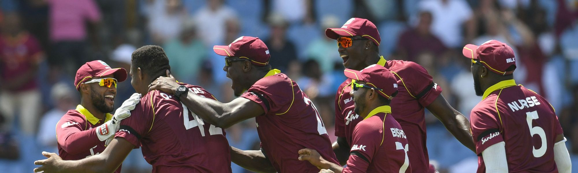West Indies drew with No.1 ranked ODI side England in the series earlier this year