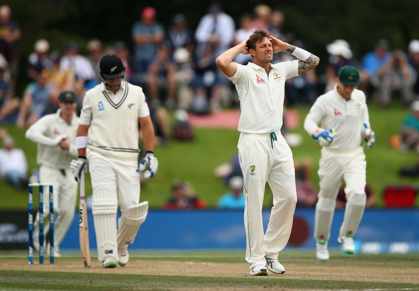 Pattinson averages 26.15 with the ball in Tests, having taken 70 wickets from 17 matches