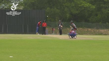 U19 CWC Asia Q Div 1: United Arab Emirates v Nepal – Ansh Tandon top scores for UAE with 54 from 85