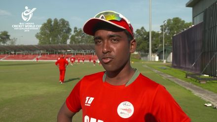 U19 CWC Asia Q Div 1: Oman v Singapore – Captain's interviews