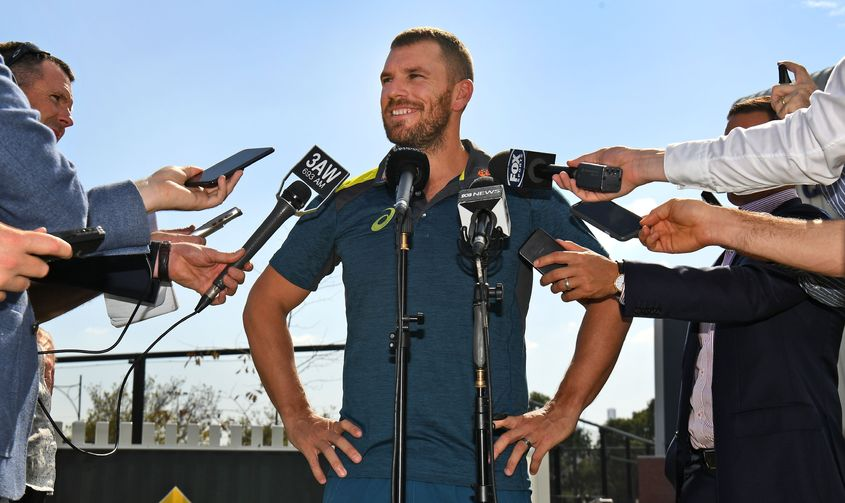 'Whichever way we go, there's scope to mix and match' – Aaron Finch