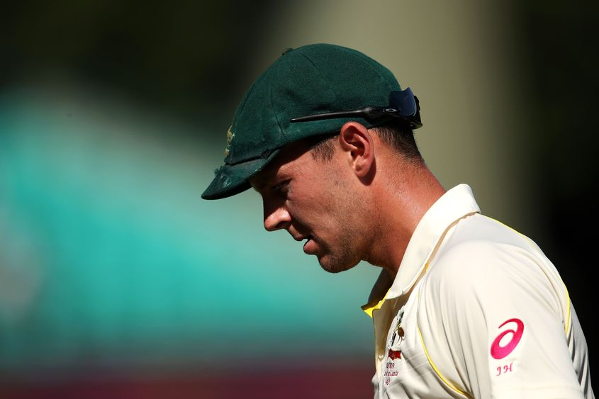 Josh Hazlewood has been left out of the World Cup to preserve him for the Ashes