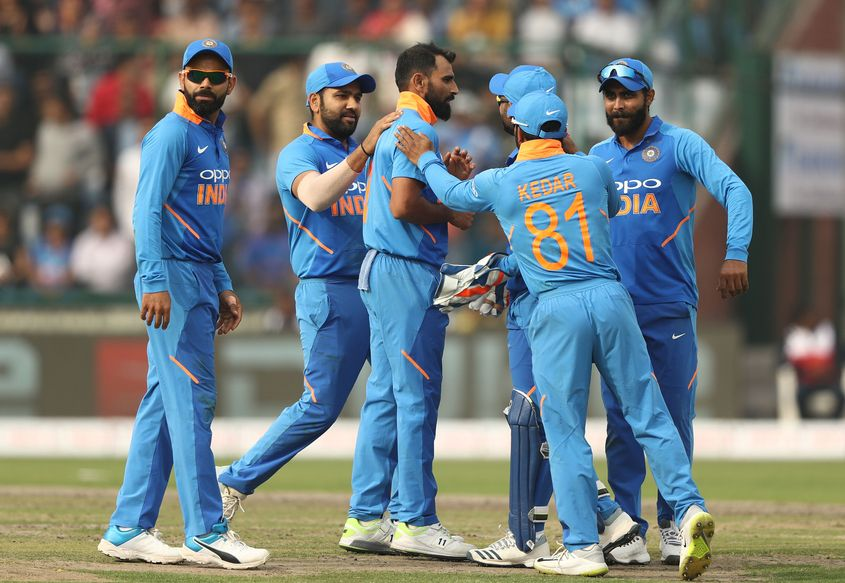 India have the most capped squad at the World Cup