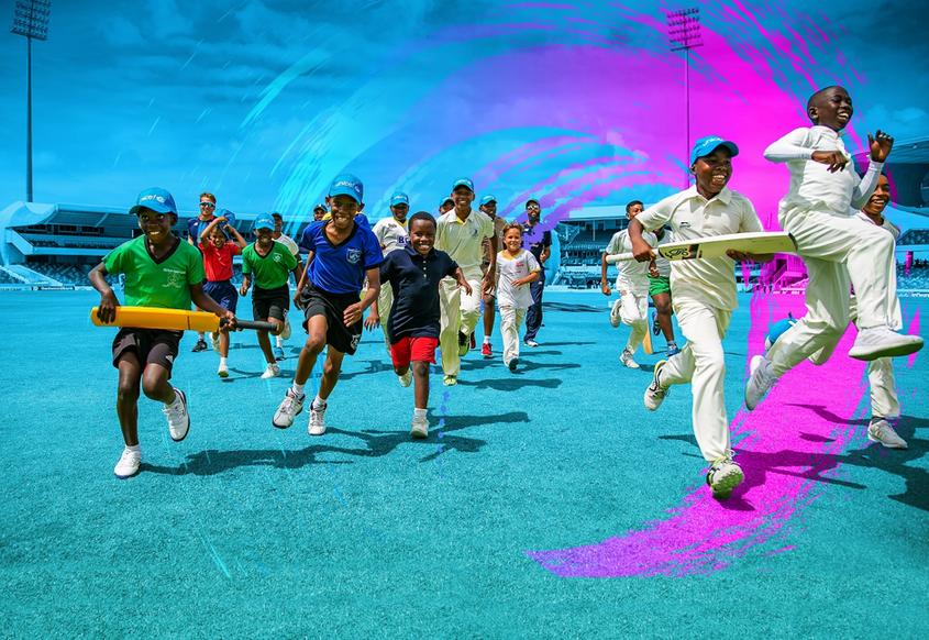 #OneDay4Children. Helping build a better world for children through cricket.