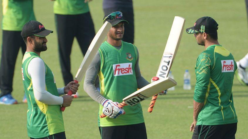 Tamim Iqbal, Shakib Al Hasan, Mashrafe Mortaza and Mushfiqur Rahim (not in picture) will hope to inspire the next generation of Bangladesh players