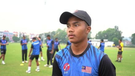U19 CWC Asia Q Div 1: Malaysia v Kuwait – toss and captains interviews