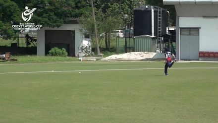 U19 CWC Asia Q Div 1: Malaysia v Kuwait - Aslam Khan reaches his 50 as Malaysia chase 229 to win