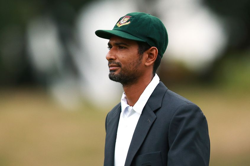 Mahmudullah is still nursing a shoulder injury that was aggravated on the New Zealand tour