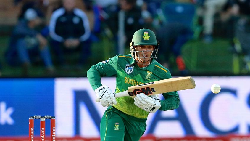 Quinton de Kock has been in great form at the top of the order