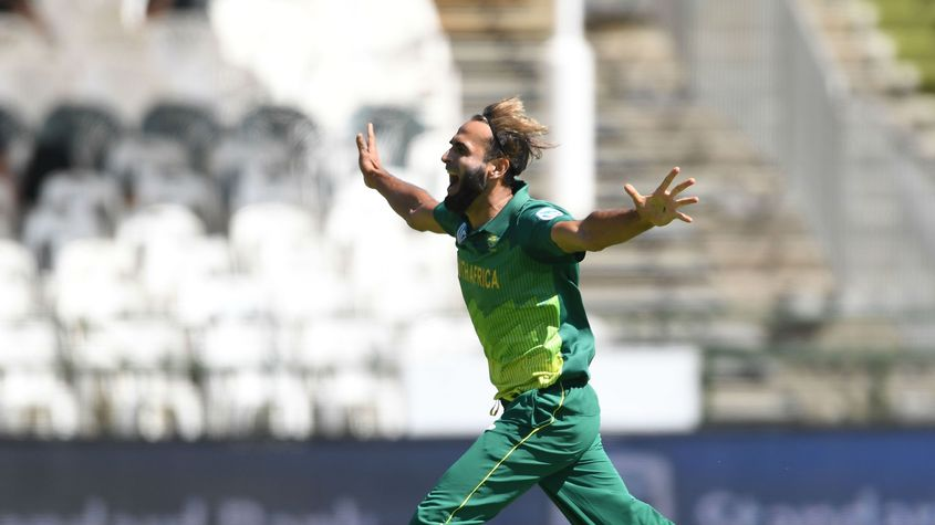 Tahir, famed for his exuberant wicket celebrations, will head the Proteas' spin attack