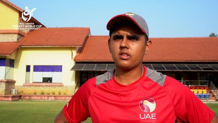 U19 CWC Asia Q Div 1: UAE v Oman – toss and captains interviews