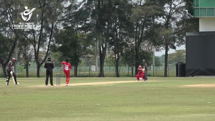 U19 CWC Asia Q Div 1: UAE v Oman – 56* for UAE's Syed Muhammad Haider Shah