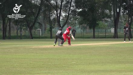 U19 CWC Asia Q Div 1: UAE v Oman - Rishabh Mukerjee claims three wickets