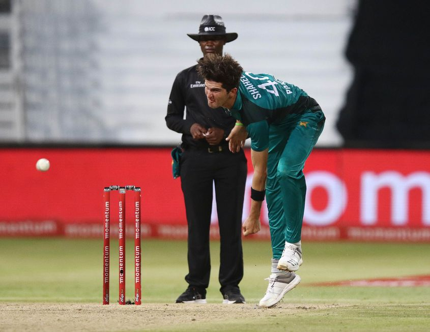 Shaheen Afridi has had a brilliant start to his international career, averaging 15 with the ball from his first 10 ODIs