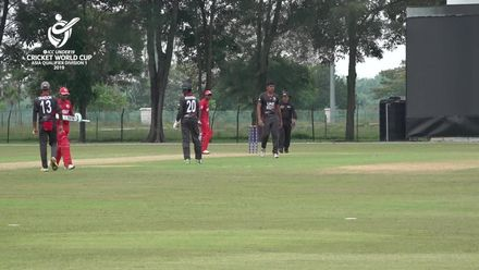 U19 CWC Asia Q Div 1: UAE v Oman -  UAE captain Aryan Lakra speaks after his POTM performance