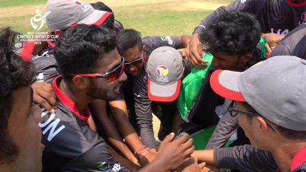U19 CWC Asia Q Div 1 - UAE's tournament-winning moment