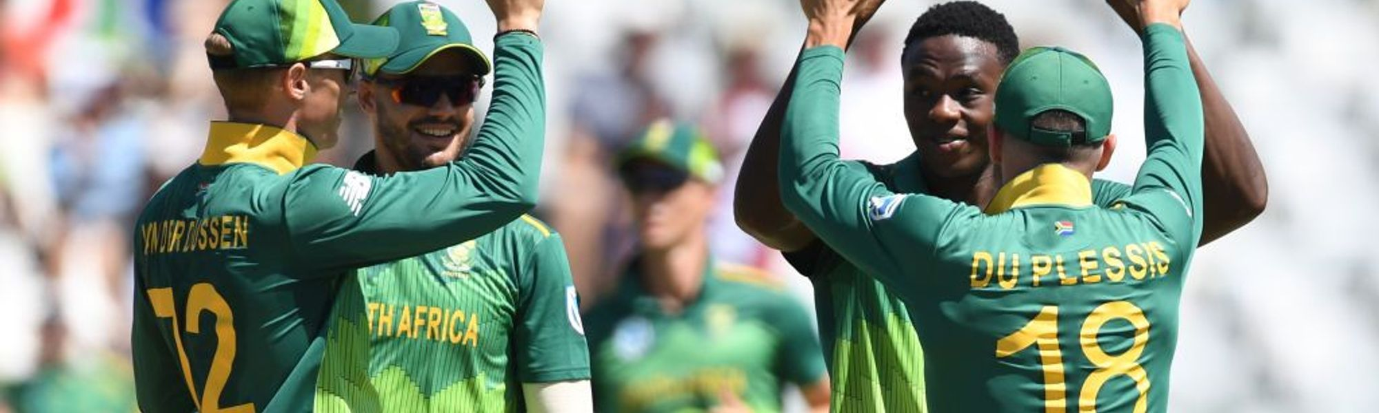 South Africa name World Cup squad