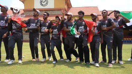 U19 CWC Asia Q Div 1: UAE v Oman highlights