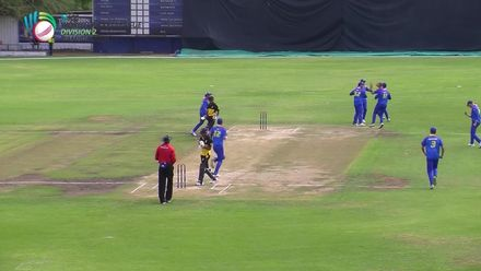 WCL 2: PNG v NAM - PNG innings highlights
