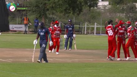 WCL 2: OMA v USA - USA lose Xavier Marshall in unfortunate style
