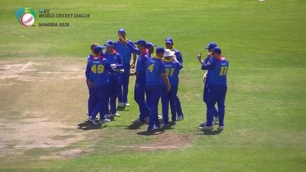 WCL 2: PNG v NAM - PNG's innings comes to a close