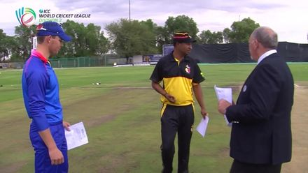 WCL 2: PNG v NAM - The toss