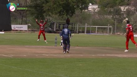 WCL 2: OMA v USA - USA lose two more early wickets