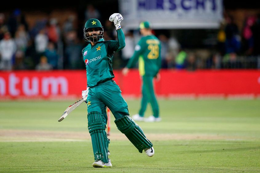 Hafeez has made seven of his 11 ODI hundreds outside of the top two
