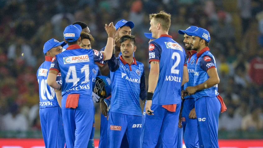 Lamichhane took 3/40 against Kings XI Punjab to help set up a win for his side – AFP