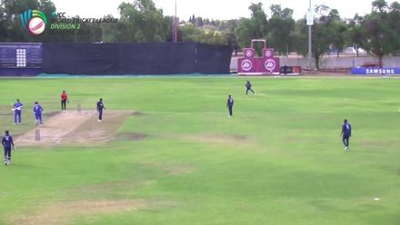 WCL 2:  NAM v USA - Merwe Erasmus is dismissed for 92