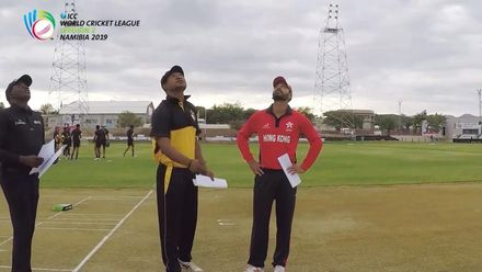 WCL 2: PNG v Hong Kong - Pre-match interviews