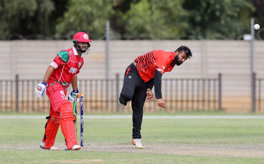 Navneet Dhaliwal claimed the key wicket of Ilyas