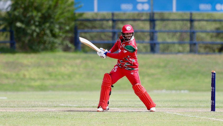 Oman's Maqsood scored a century