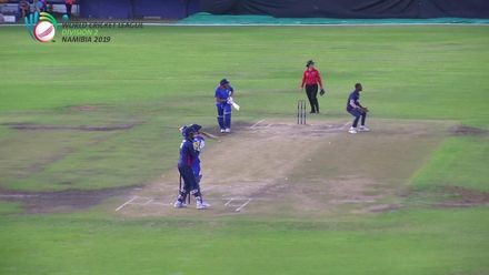 WCL 2: Namibia v USA - Craig Williams is dismissed for 24