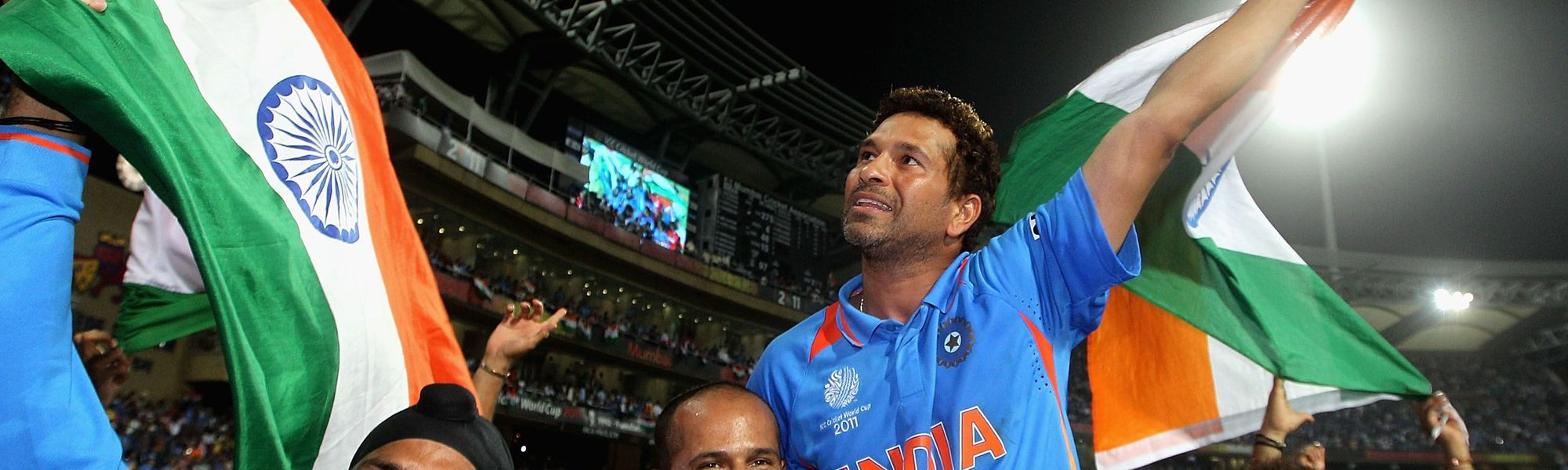 Tendulkar finally won the Cricket World Cup with his fifth attempt