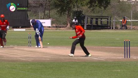 WCL 2: Namibia v Canada - Dutta dismisses Namibia's Baard for 90 from 130