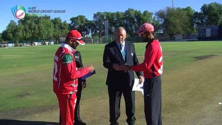 WCL 2: Hong Kong v Oman: Oman choose to field