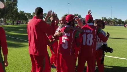 WCL2: Hong Kong v Oman – Oman's winning moment