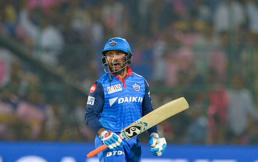 Pant's scintillating knock of 78* was studded with six fours and four sixes - AFP