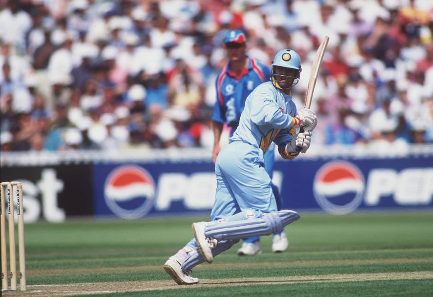 Dravid was a part of the Indian side that toured England for the 1999 World Cup