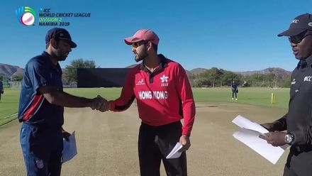 WCL 2: USA v Hong Kong – Hong Kong elect to bowl
